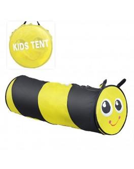 Тунель-труба дитячий ігровий Бджілка, 148 х 46 см