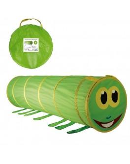 Тунель-труба дитячий ігровий Гусениця, 148 х 46 см
