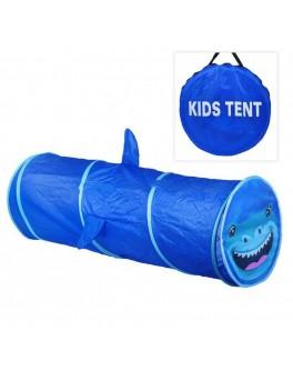 Тунель-труба дитячий ігровий Акула, 148 х 46 см