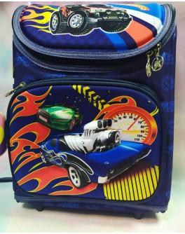 Рюкзак шкільний каркасний С 36172 Машинки 3D принт - igs С 36172