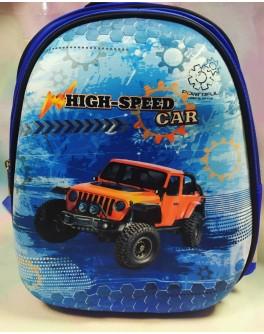 Рюкзак школьный Kidis High speed car - mlt 13755