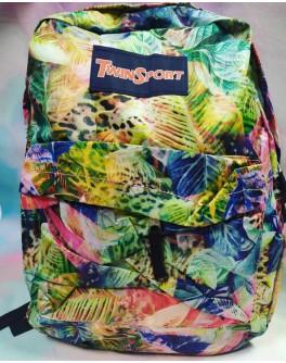 Рюкзак подростковый мягкий Негатив с карманом - mlt 2001-1