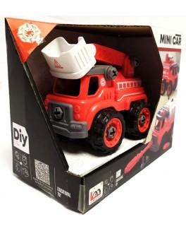 Конструктор с отверткой Пожарная машина (LM 9034) - igs LM 9034