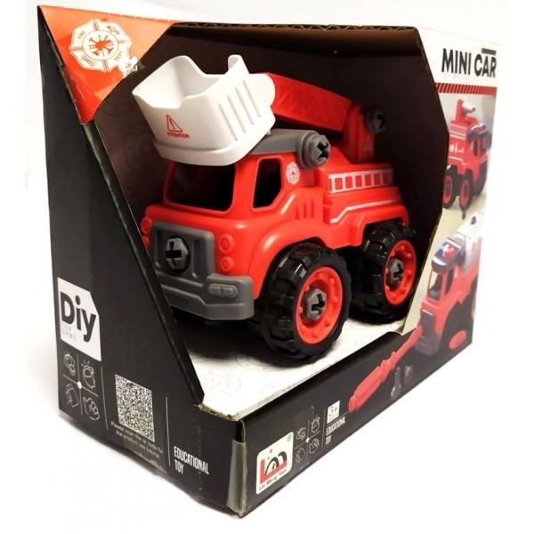 Конструктор з викруткою Пожежна машина (LM 9034) - igs LM 9034