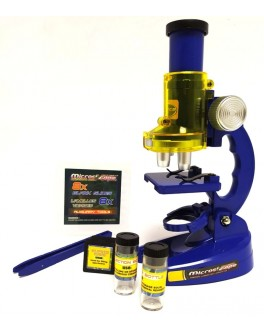 Микроскоп детский 100Х, 200Х, 450Х с аксессуарами (С 2107)