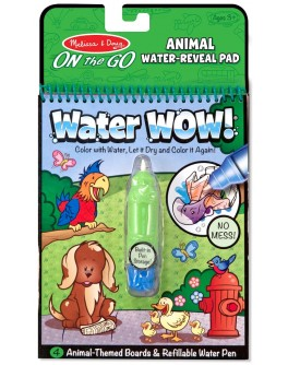 Волшебная водная раскраска для малышей Melissa & Doug Животные (MD15376)