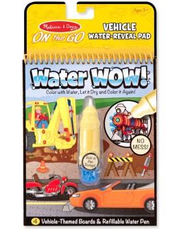 Волшебная водная раскраска для малышей Melissa & Doug Транспорт (MD15375)