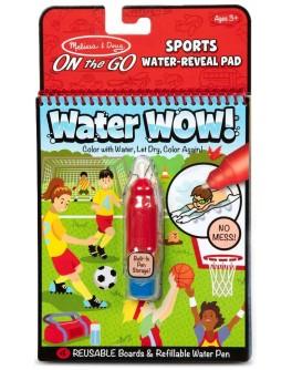 Чарівна водна розмальовка для малюків Melissa & Doug Спорт (MD30175)
