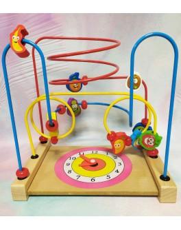 Дерев'яна іграшка Розвиваючий центр Mut Пальчиковий лабіринт (C 39215)