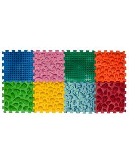 Килимок масажний Пазли Мікс 8 елементів - orto 09224