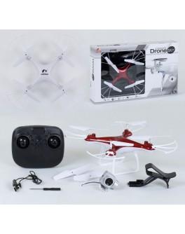 Радіокерований квадрокоптер з камерою, батарея 3.6v, wi-fi, світло (CX - 54 W)