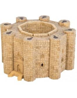 Конструктор Замок Кастель-дель-Монте з керамічних цеглинок 1500 деталей - esk 70583