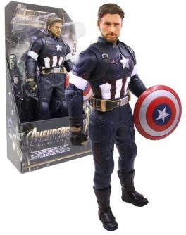 Фігурка Супер Героя Месники Avengers Капітан Америка 32 см (3320)