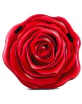 Матрас надувной Intex Красная роза 137х132 см (58783)
