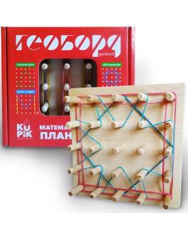 Математический планшет 5х5 Игротеко (поле 15х 15 см ) - igroteco 003