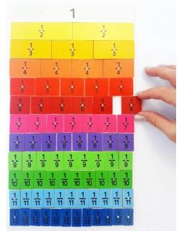 Магнитный набор Частей и дробей 78 составных частей
