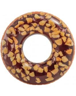 Надувний круг Intex Пончик в шоколаді 114 см (56262)