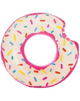 Круг надувний дитячий Intex Пончик 107 см (56265)