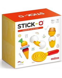 Магнитный конструктор Stick-O. Кухня, 16 элементов (902001)