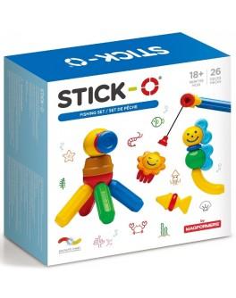 Магнітний конструктор Stick-O. Риболовля, 26 елементів (902006)