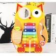 Дерев'яна іграшка бізіборд ксилофон Сова MD 1302 - mpl MD 1302