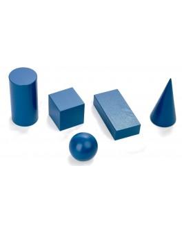 Дерев'яна іграшка Геометричні фігури 5 елементів, Komarovtoys - kom 341