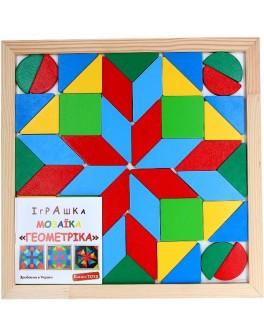 Мозаїка Геометрика на 4 фігури - Kom 346