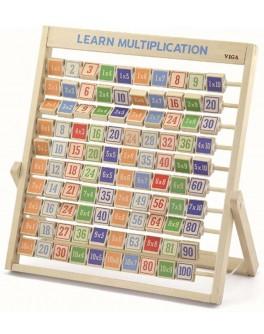 Набір для навчання Viga Toys Вивчаємо множення (50036)