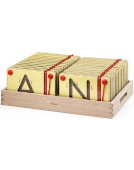 Навчальний набір Viga Toys Вчимося писати Англійські заголовні букви (50337)