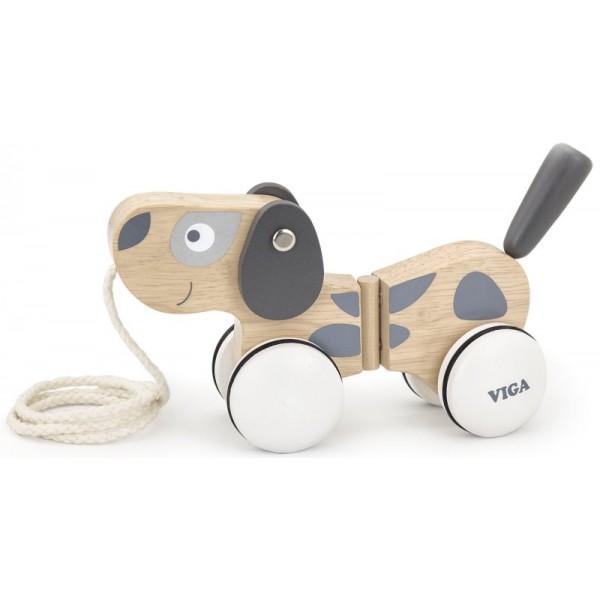 Собачка Деревянная каталка Viga Toys