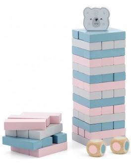 Дерев'яна настільна гра Viga Toys PolarB Дженга (44011)