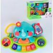 Музична іграшка Hola Toys Піаніно дитяче Слоник (3135)