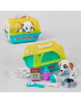 Ігровий набір JIA YU TOY Собачка з набором для догляду, в валізі (T 802-3)