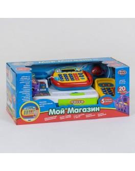 Кассовый аппарат Play Smart Мой магазин 20 аксессуаров, свет, звук (7019)