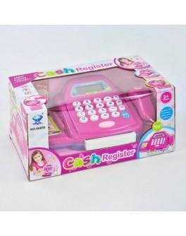 Детский игровой кассовый аппарат свет, звук (66050)