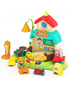 Музична іграшка Hola Toys інтерактивний будиночок Дитячий садочок (E935)