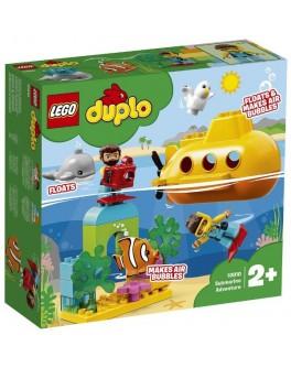 Конструктор LEGO DUPLO Пригоди на підводному човні (10910)