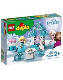 Конструктор LEGO DUPLO Чаювання у Ельзи та Олафа (10920)