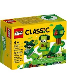 Конструктор LEGO Classic Зелені кубики для творчості (11007)
