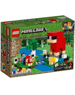 Конструктор LEGO Minecraft Ферма вовни (21153)