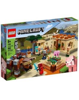 Конструктор LEGO Minecraft Напад шкідників (21160)