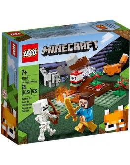 Конструктор LEGO Minecraft Пригоди в тайзі (21162)