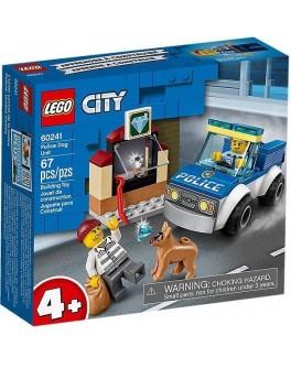 Конструктор LEGO City Поліцейський загін з собакою (60241)
