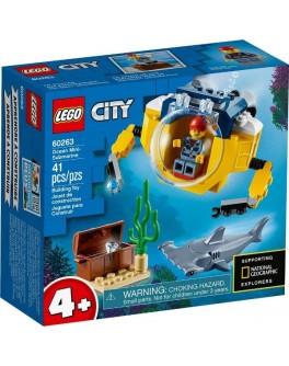 Конструктор LEGO City Океан: міні-субмарина (60263)