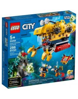 Конструктор LEGO City Океан: Розвідувальний підводний човен (60264)