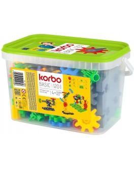 Набір для творчого конструювання Korbo Basic, 120 деталей