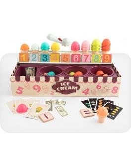 Игровой набор для счета и сортировки Top Bright Магазин Мороженого (120478)