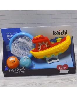 Іграшка для купання Водоспад KAICHI Кораблик з баскетболом на присосках (К 999-206 В)