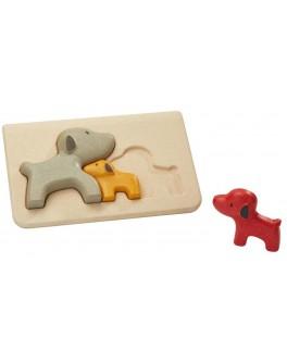 Дерев'яна іграшка Plan Toys головоломка Собака (4636)