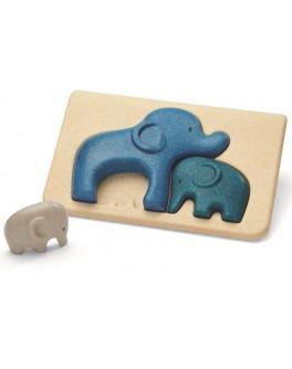 Дерев'яна іграшка Plan Toys головоломка Слон (4635)